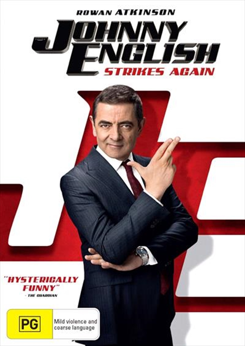 Johnny English Strikes Again | DVD