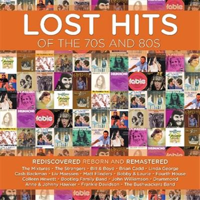 Lost Hits Of The 70's And 80's | CD