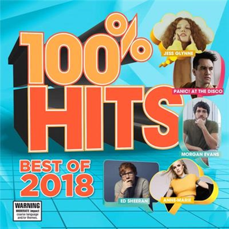 100% Hits - Best Of 2018 | CD