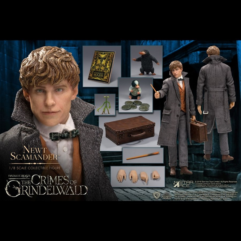 Fantastic Beasts 2: The Crimes of Grindelwald - Newt Scamander 1:8 Scale Action Figure | Merchandise