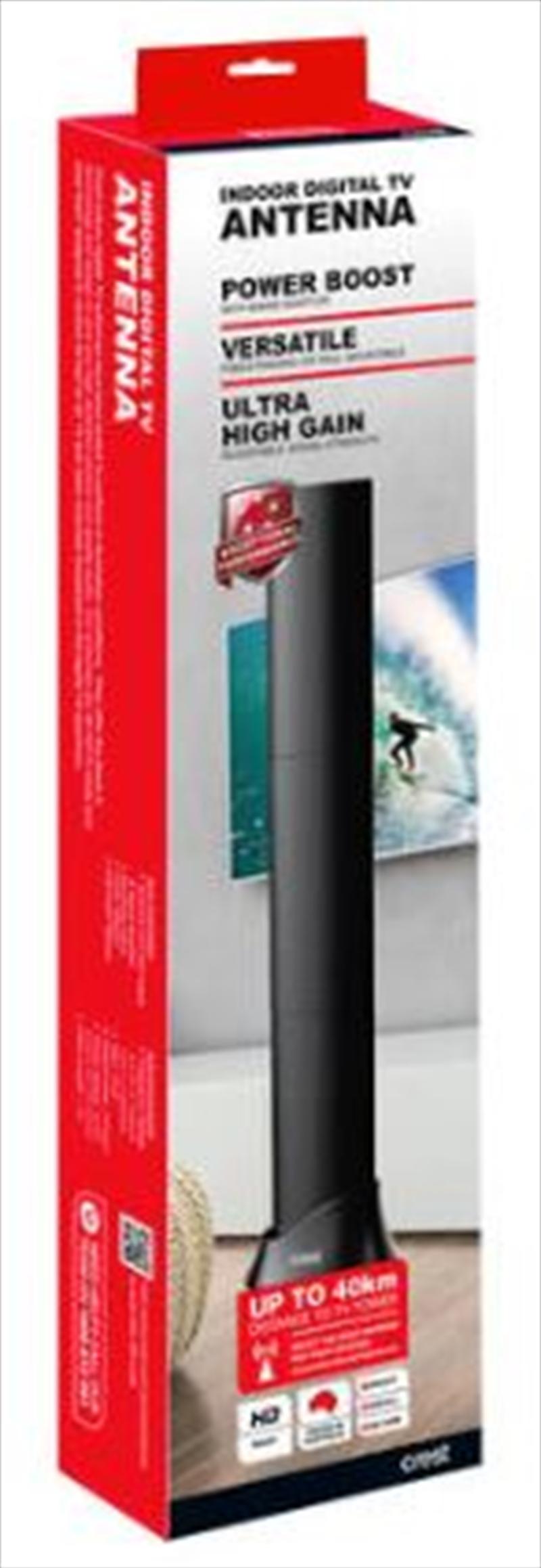 Crest Indoor Antenna High Performance - Black | Accessories