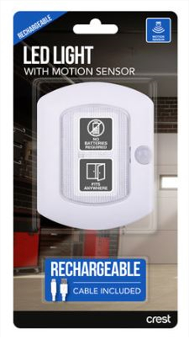 Crest LED Rechargeable Motion Sensor Small | Accessories
