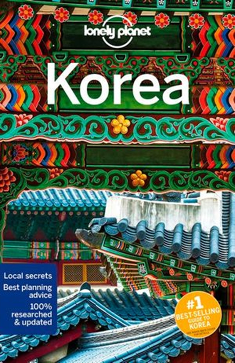 Lonely Planet Travel Guide - Korea 11th Edition | Paperback Book