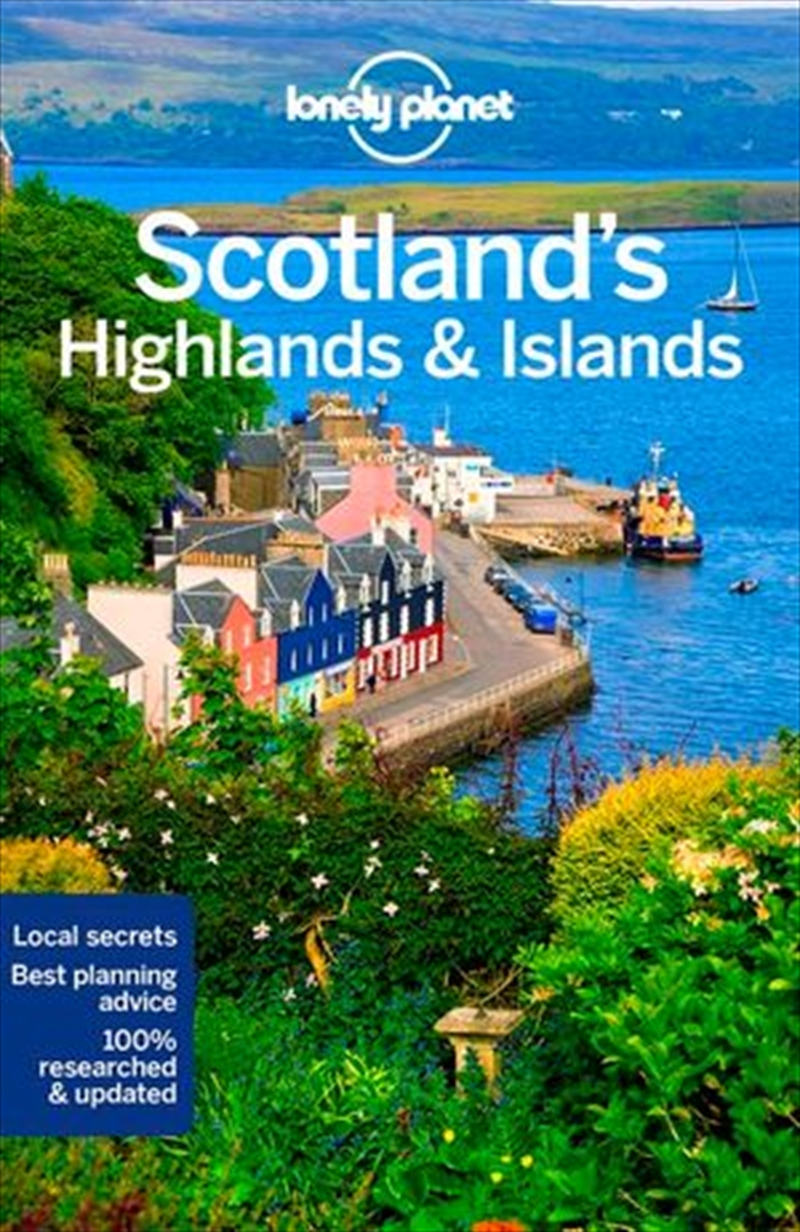 Lonely Planet Travel Guide - Scotlands Highlands And Islands - 4th Edition | Paperback Book