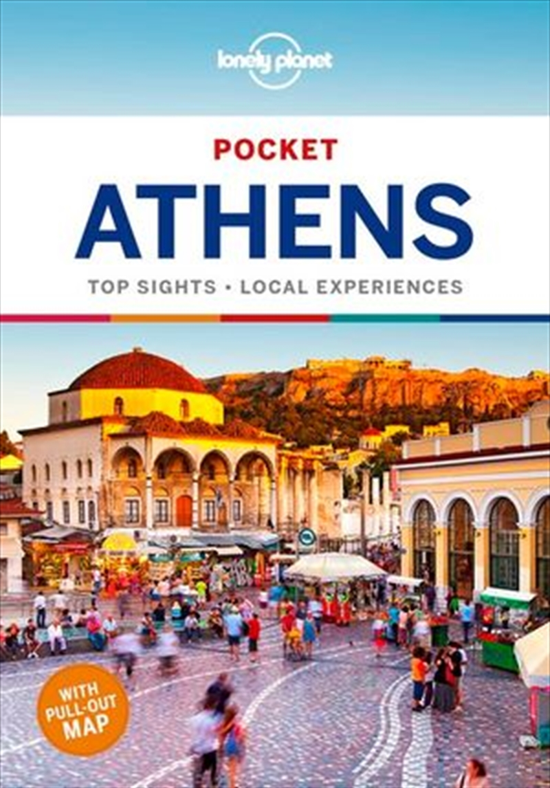 Lonely Planet Pocket Travel Guide - Athens 4th Edition | Paperback Book