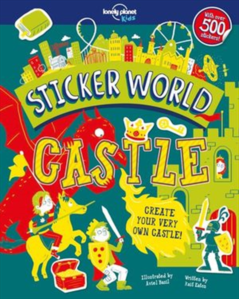 Lonely Planet Kids - Sticker World Castle | Paperback Book