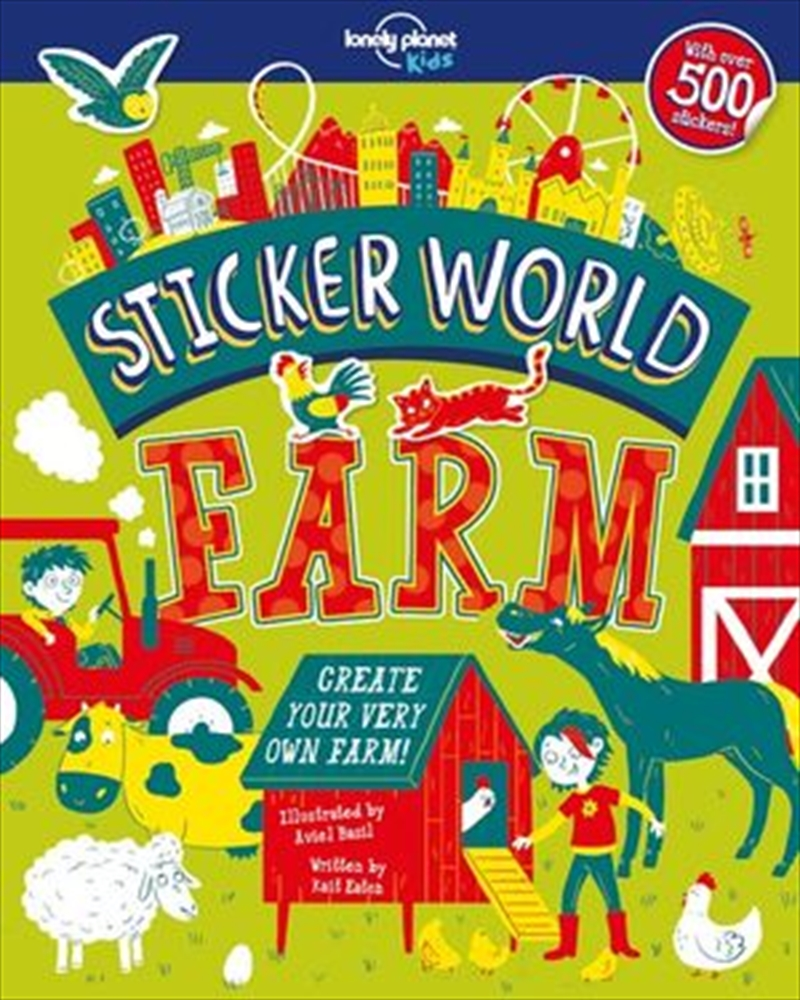 Lonely Planet Kids - Sticker World Farm | Paperback Book