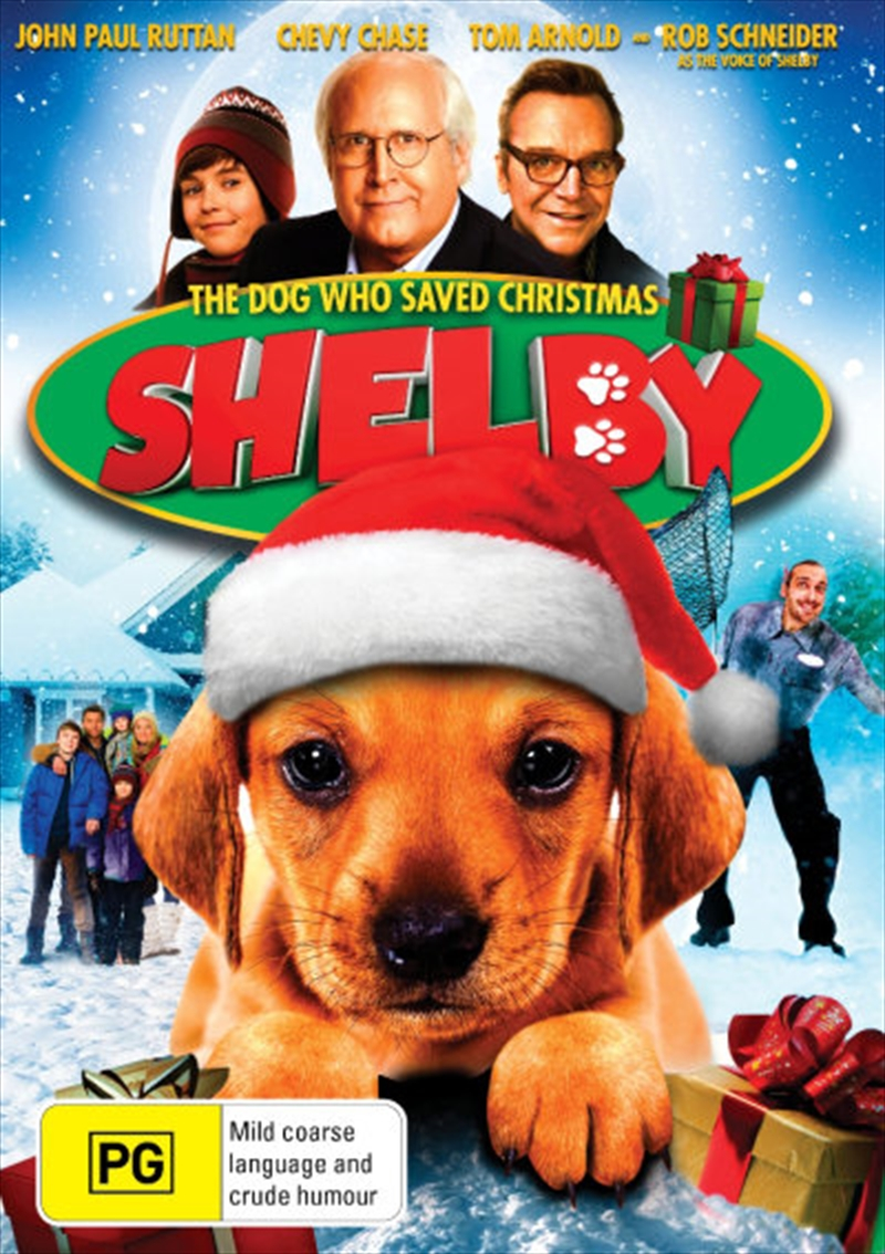 Shelby The Dog Who Saved Christmas | DVD