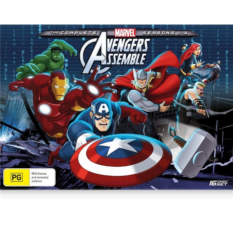 Avengers - Season 1-4 | DVD