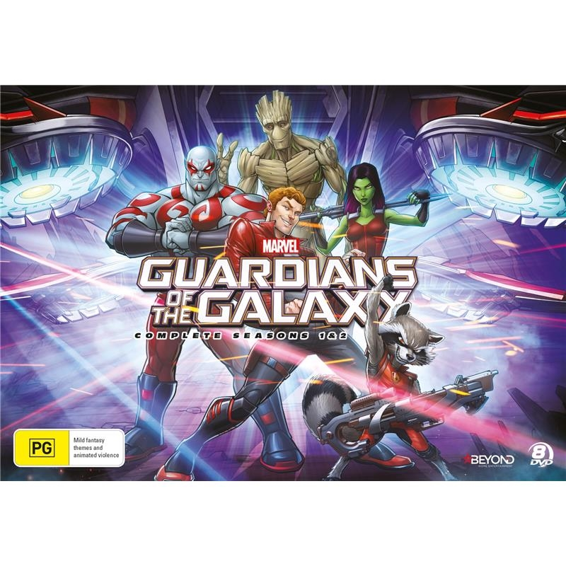 Guardians Of The Galaxy - Season 1-2 | DVD