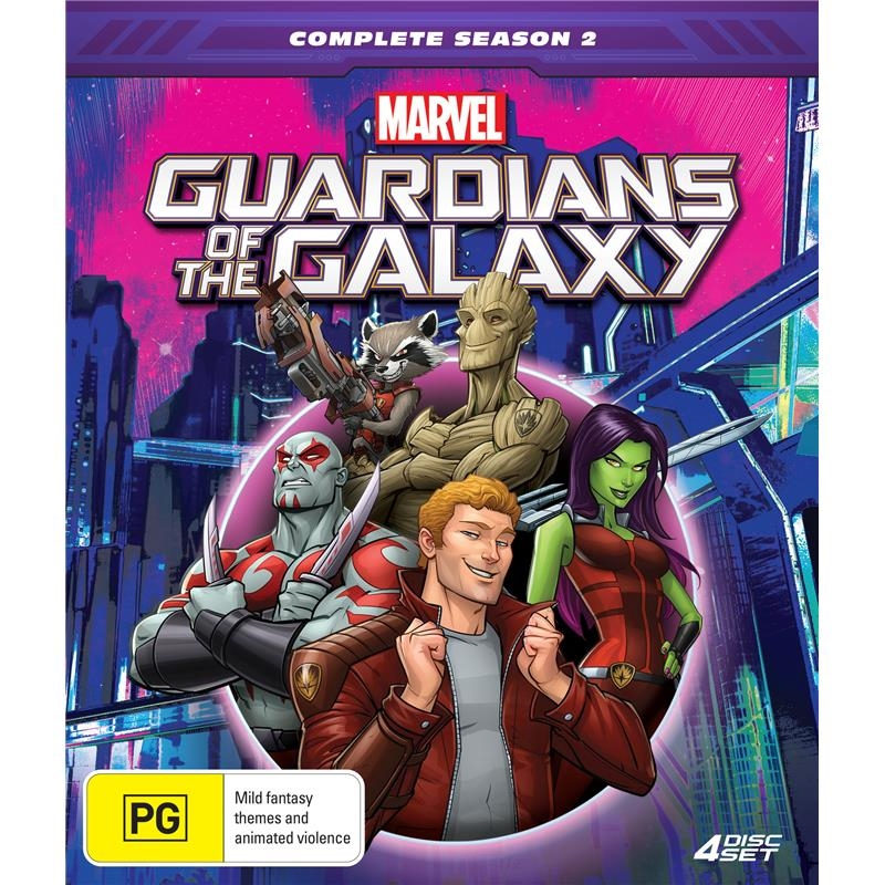 Guardians Of The Galaxy - Season 2 - Collector's Edition | DVD