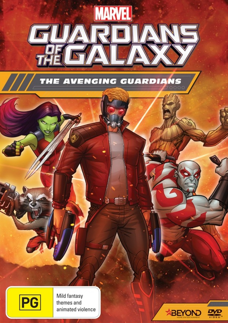 Guardians Of The Galaxy - The Avenging Guardians | DVD