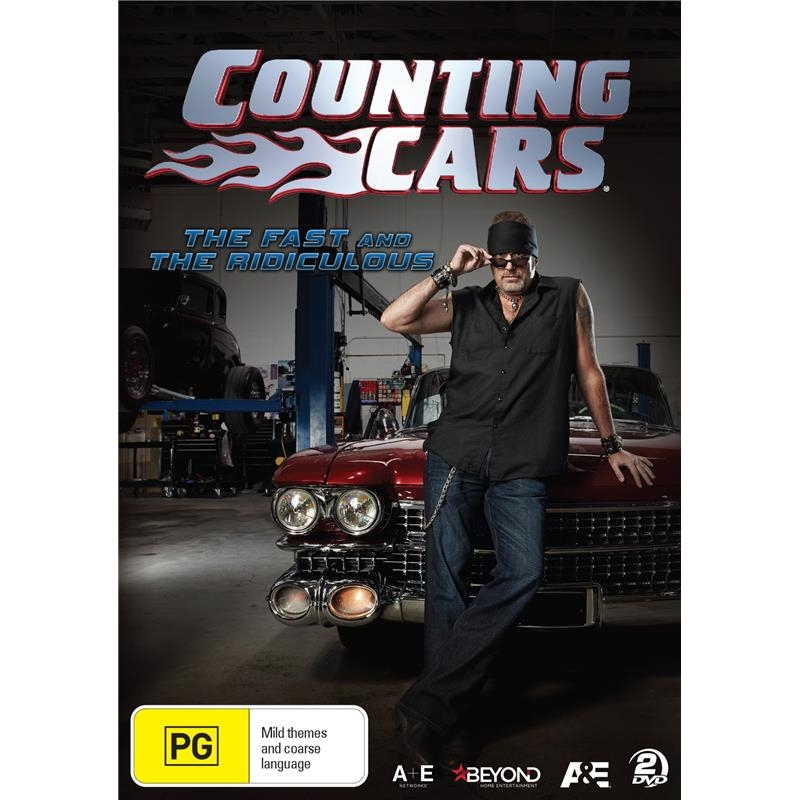 Counting Cars - The Fast And The Ridiculous | DVD