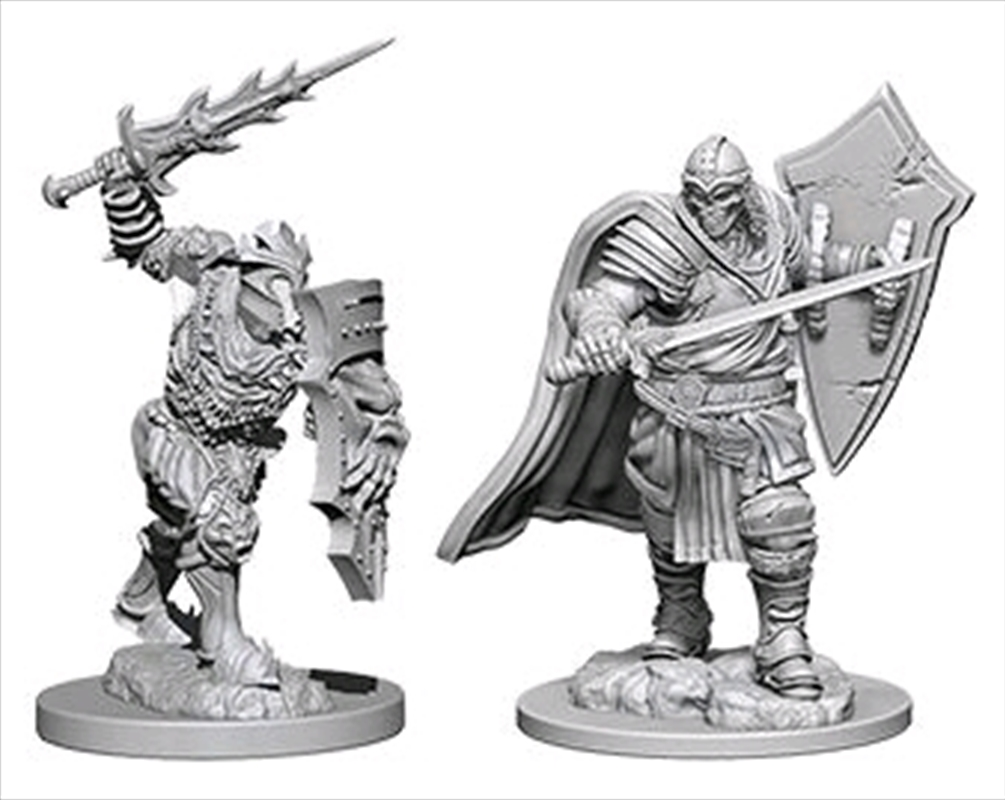 Dungeons & Dragons - Nolzur's Marvelous Unpainted Minis: Death Knight & Helmed Horror | Games