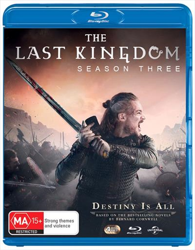 Last Kingdom - Season 3, The | Blu-ray