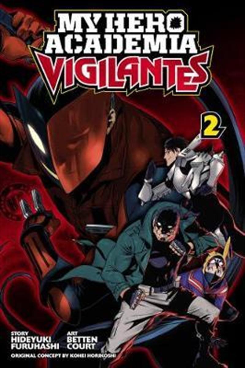 My Hero Academia: Vigilantes 2 | Paperback Book
