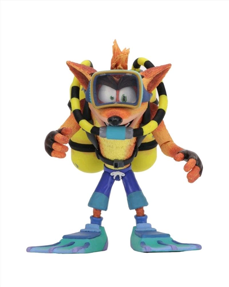 """Crash Scuba 7"""" Action Figure   Merchandise"""