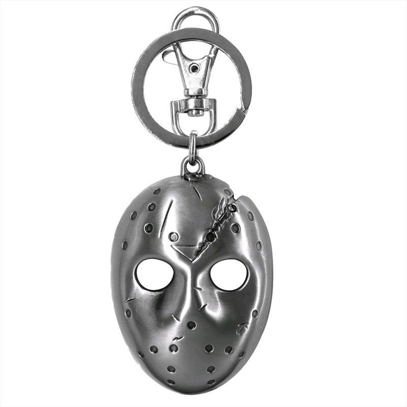 Friday the 13th - Jason Voorhees Pewter Keychain | Accessories