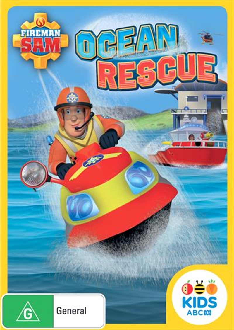 Fireman Sam - Ocean Rescue!   DVD