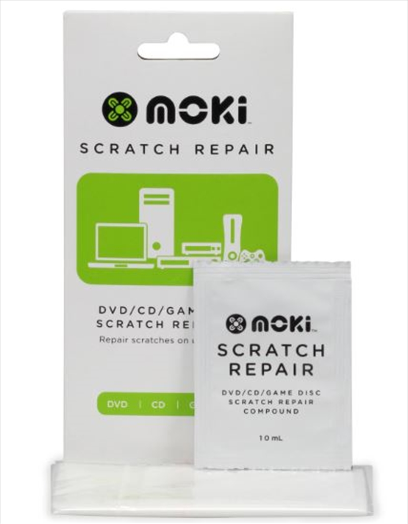 Scratch Repair - DVD/CD/Game Disc Scratch Repair Kit | Accessories