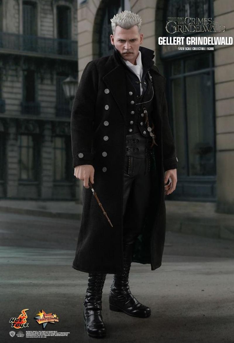 "Fantastic Beasts 2: Crimes of Grindelwald - Gellert Grindelwald 12"" 1:6 Scale Action Figure   Merchandise"