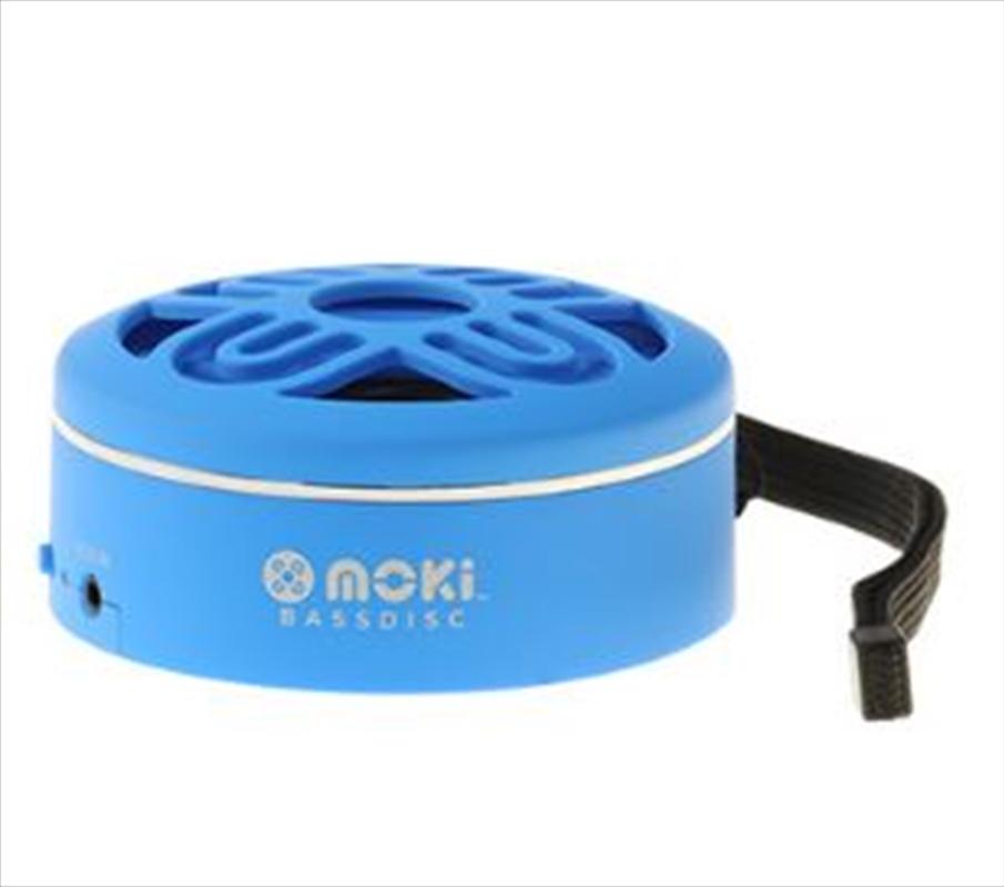 BassDisc Bluetooth Speaker Blue | Accessories