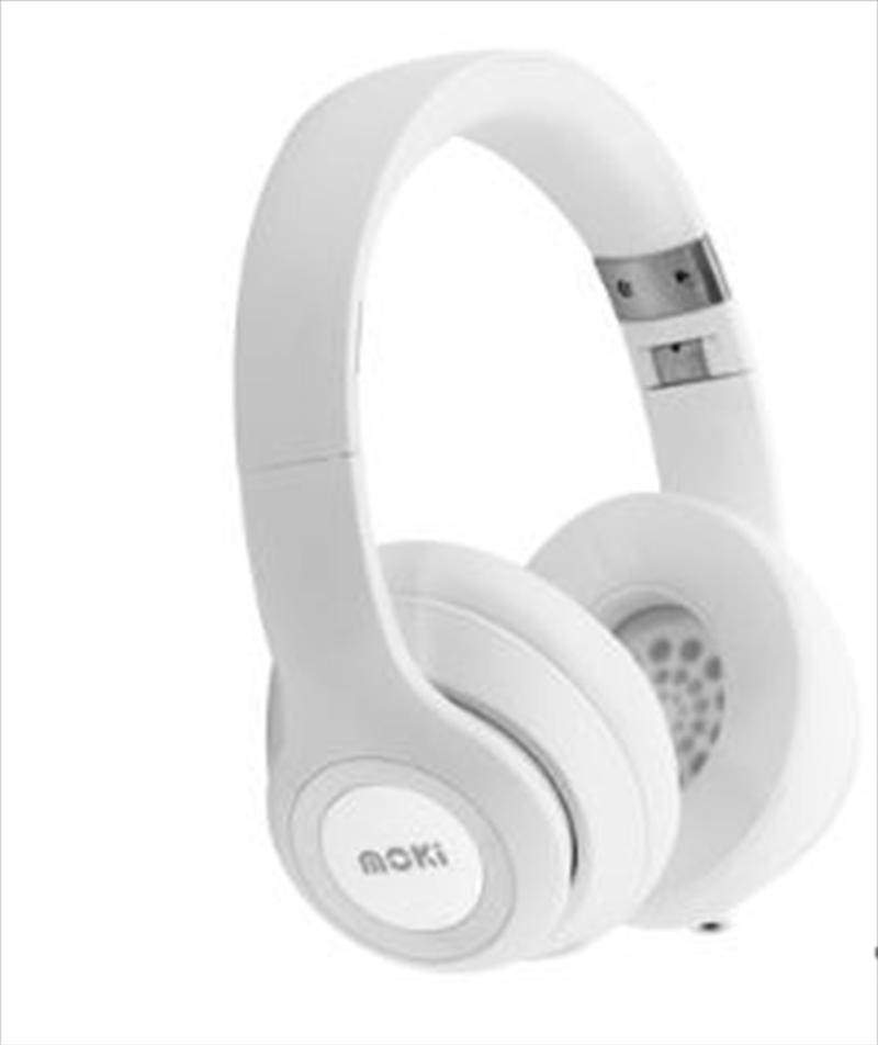 Moki Katana Bluetooth Headphones - White | Accessories