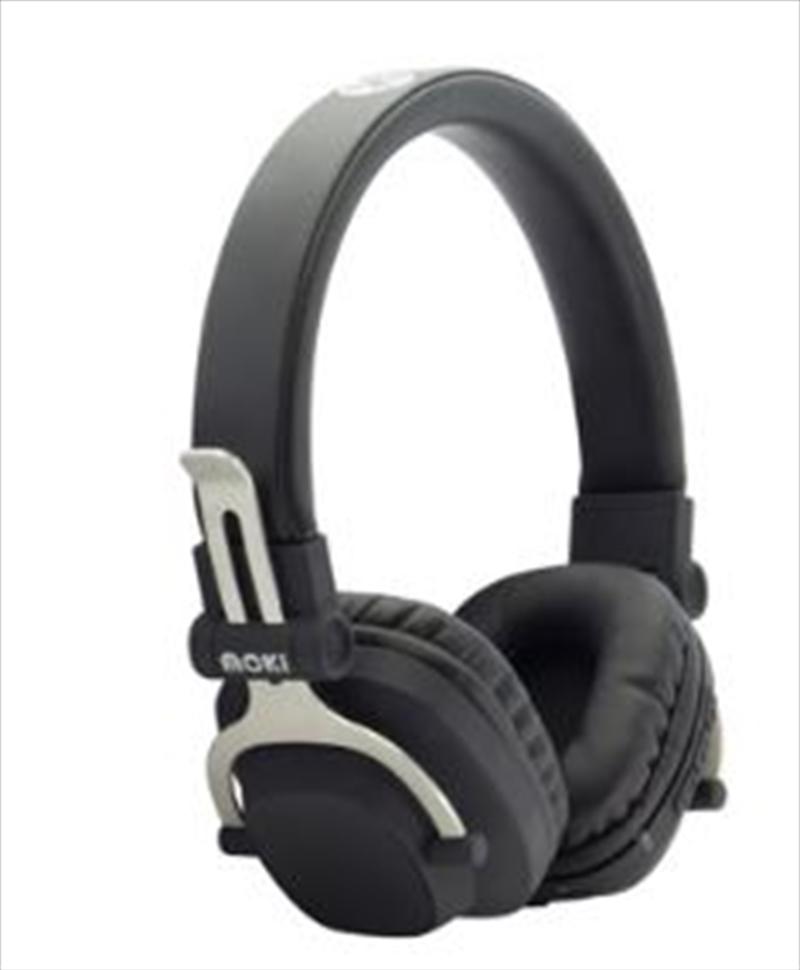 Moki EXO Double Black Bluetooth Headphones   Accessories