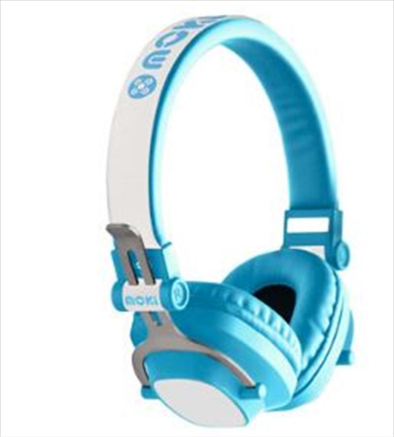 Moki EXO Kids Bluetooth Headphones - Blue | Accessories