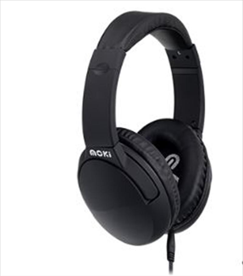 Noise Cancellation Black Headphones | Accessories