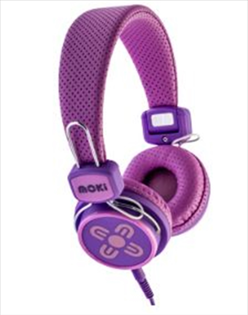 Kid Safe Volume Limited Pink & Purple Headphones | Accessories