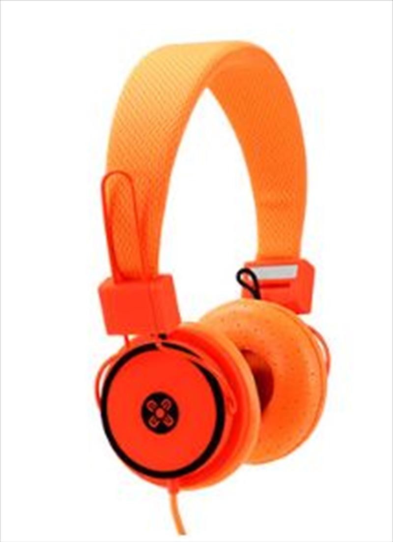 Hyper Orange Headphones | Accessories