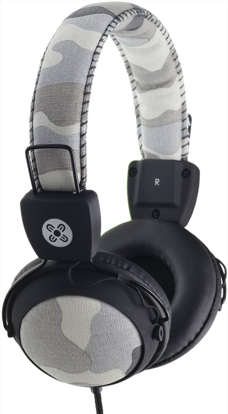 Camo In-line Mic Grey Headphones | Accessories