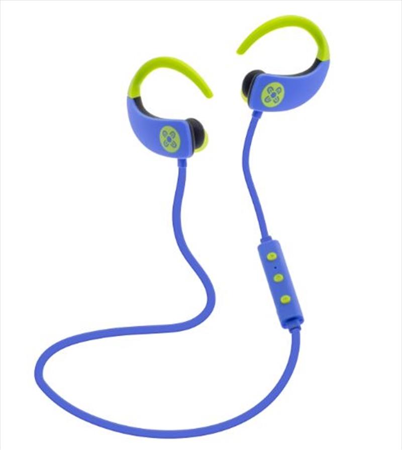 Octane Bluetooth Earphones - Blue | Accessories