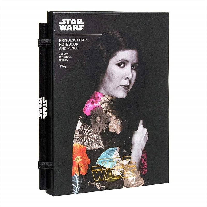 Star Wars Princess Leia Notebook | Merchandise