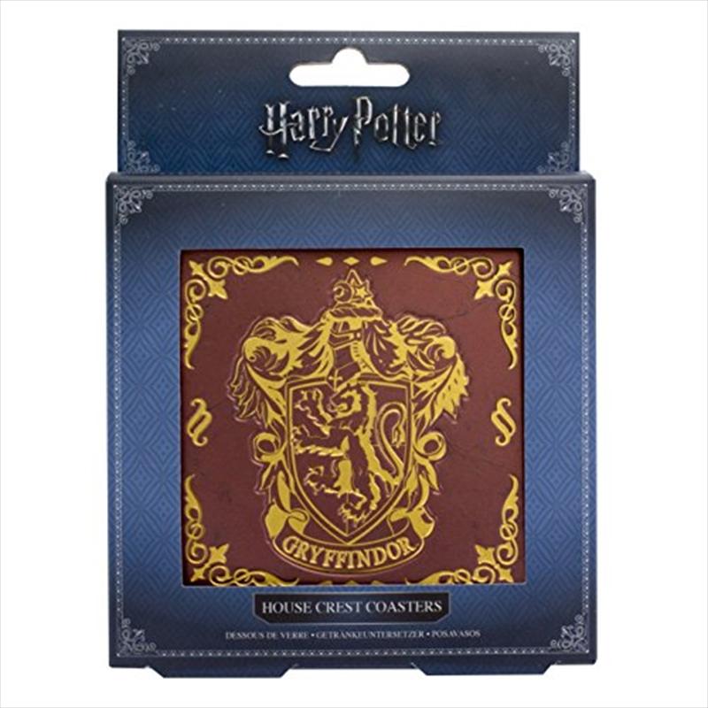 Harry Potter - Hogwarts Crest Coasters V2 | Merchandise