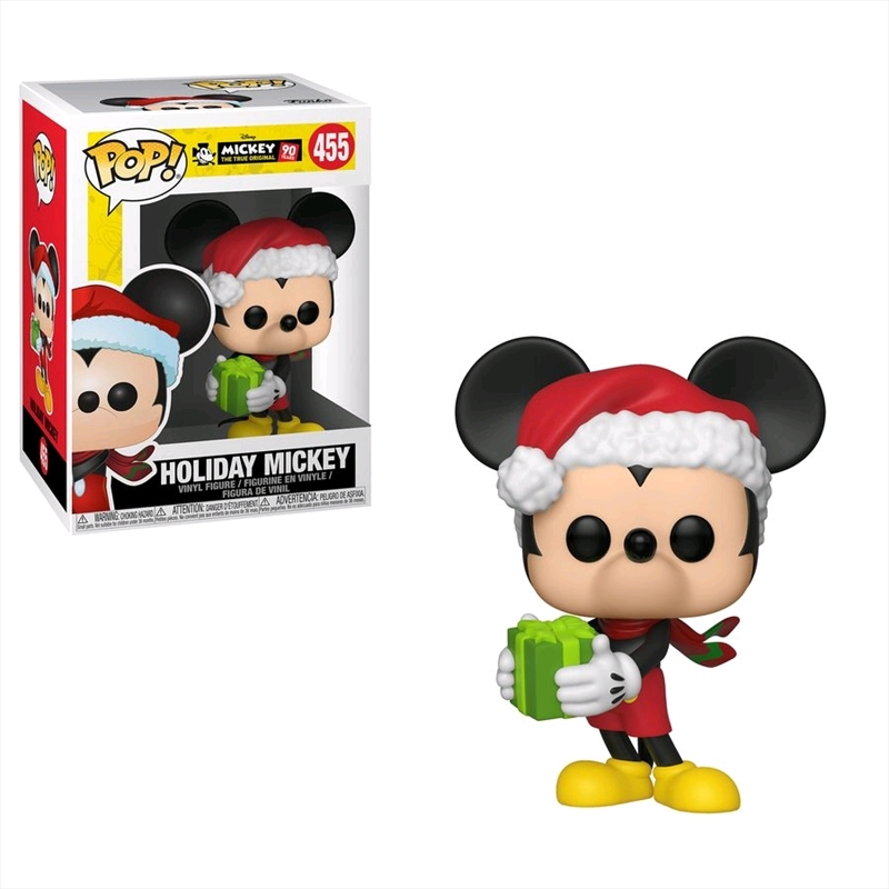 Mickey Mouse - 90th Anniversary Holiday Mickey Pop! Vinyl | Pop Vinyl