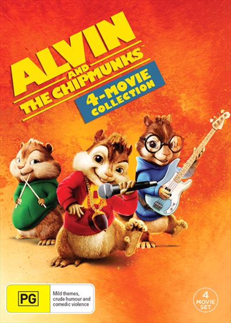 Alvin and The Chipmunks 4 Pack | DVD