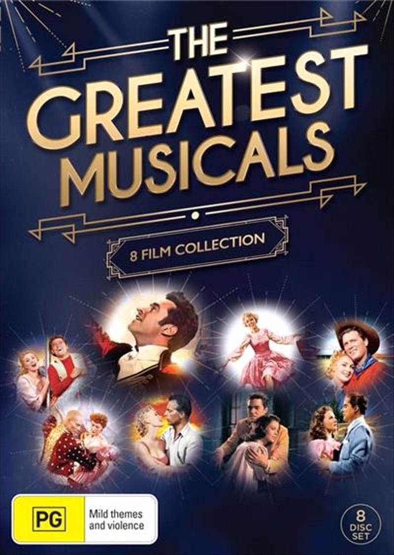 Greatest Musical 8 Pack, The | DVD