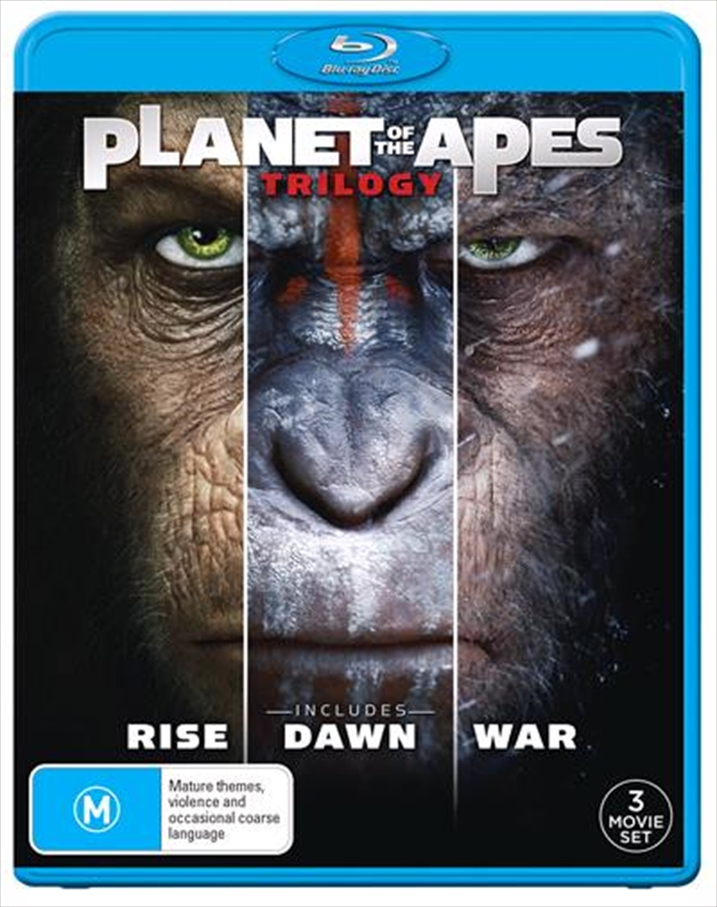 Planet Of The Apes Trilogy | Blu-ray