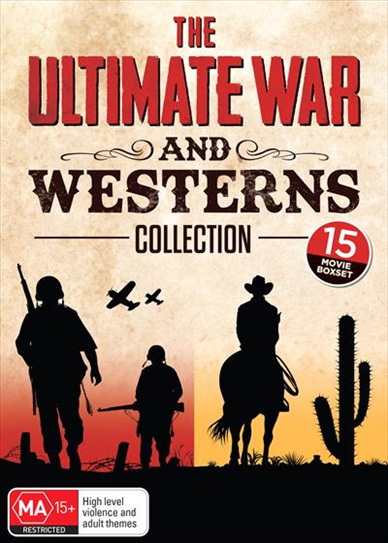 Ultimate War And Western 15 Movie Collection, The | DVD