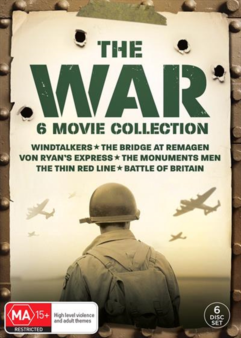 War Slimpack - 6 Movie Collection, The | DVD