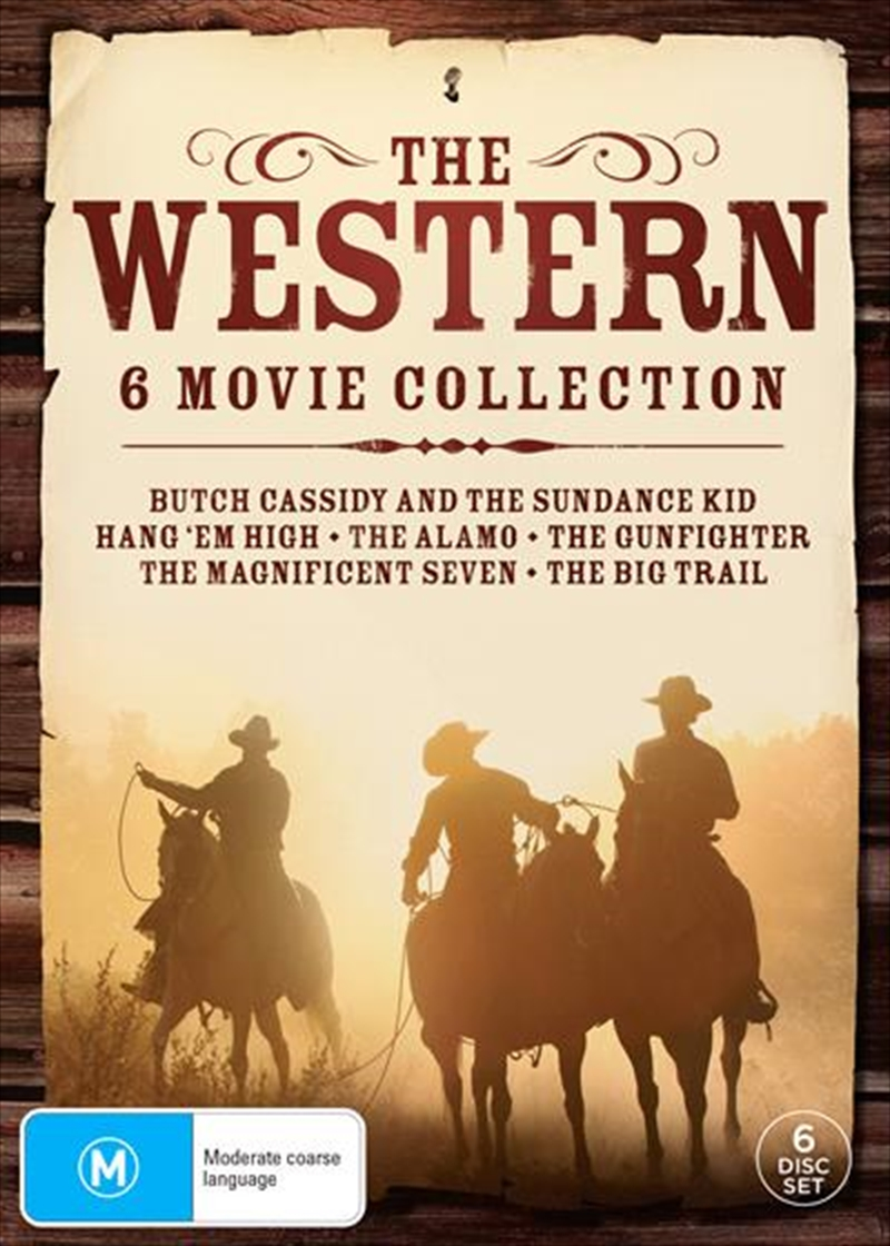 Western Slimpack - 6 Movie Collection, The | DVD