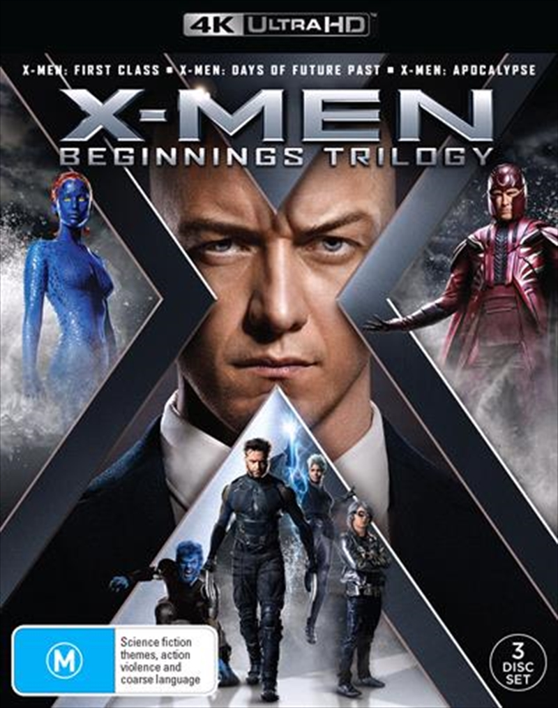 X-Men Beginnings - Trilogy | UHD