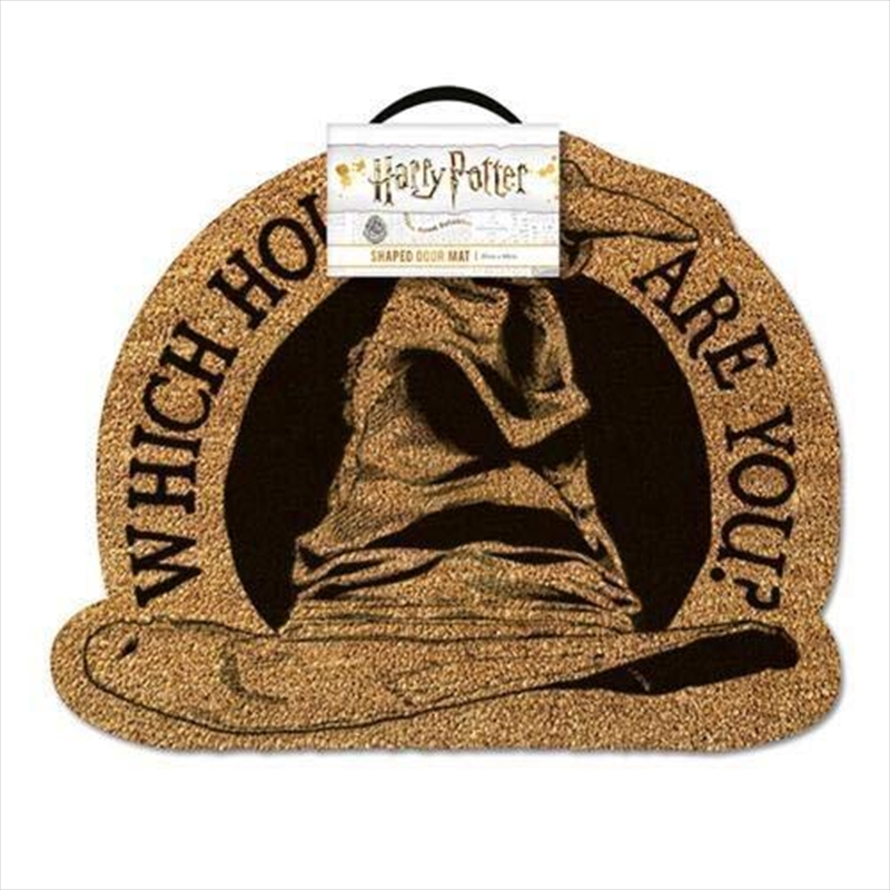 Harry Potter - Sorting Hat Doormat (Which House Are You) | Merchandise