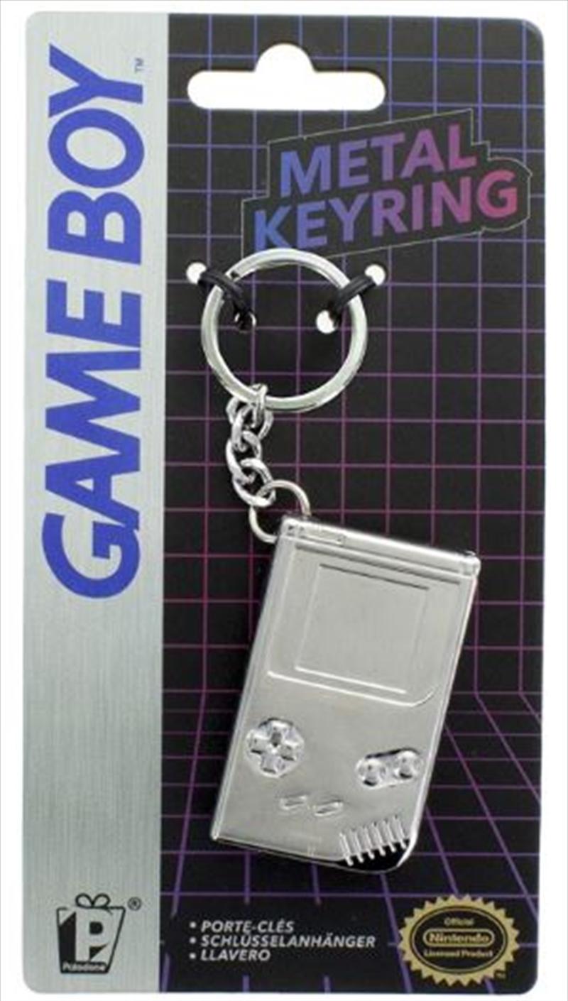 Gameboy 3D Metal Keyring | Accessories
