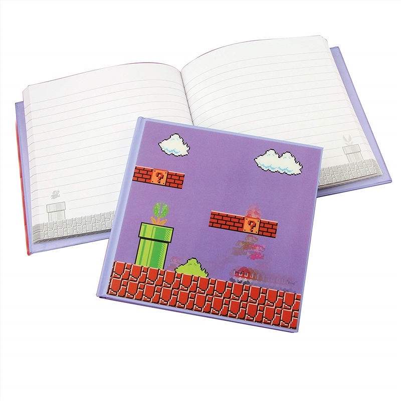 Super Mario Bros - 3D Motion Notebook | Merchandise