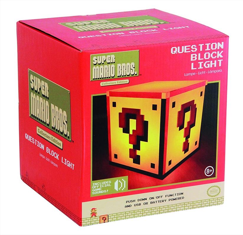 Super Mario Bros - Question Block Light | Accessories