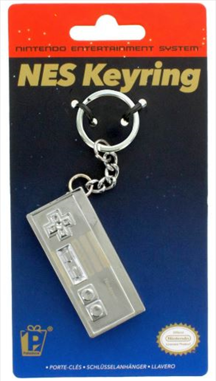 Nintendo - Nes 3D Metal Keyring | Accessories