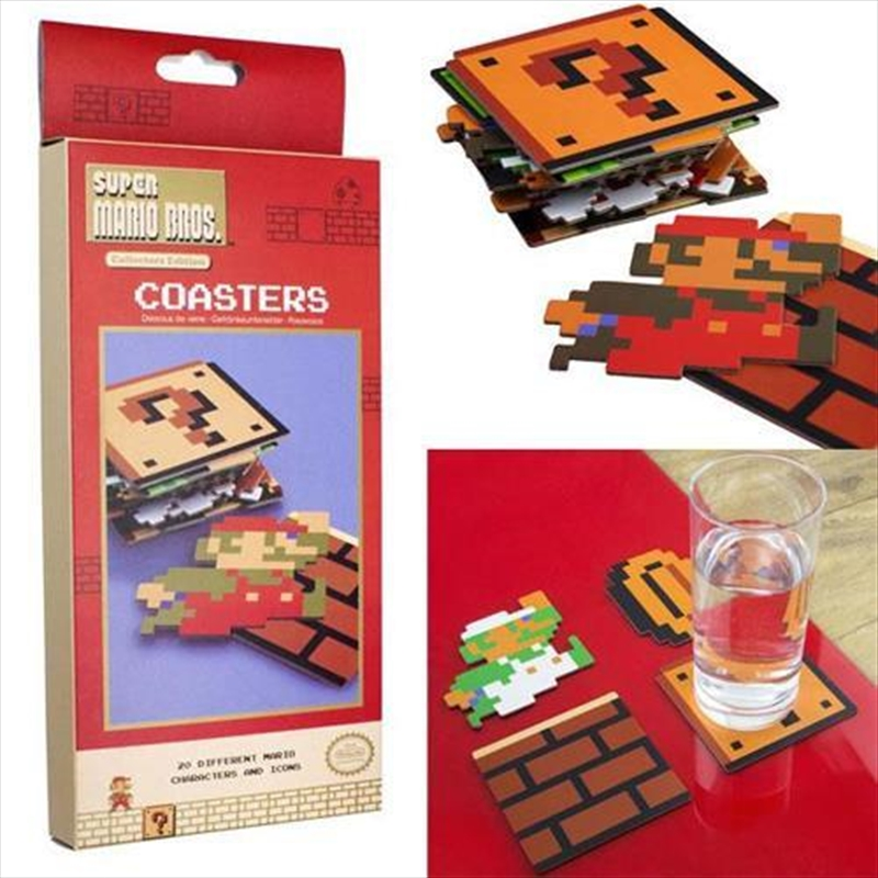 Super Mario Coasters | Merchandise